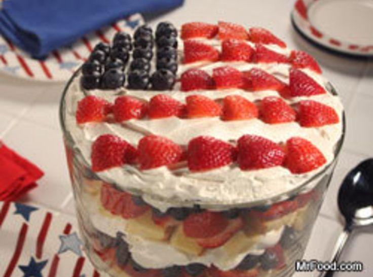 4th of july pound cake dessert