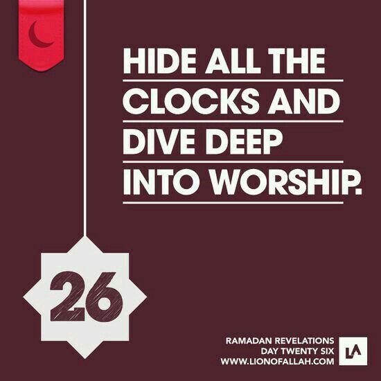 Ramadan Revelations # 26