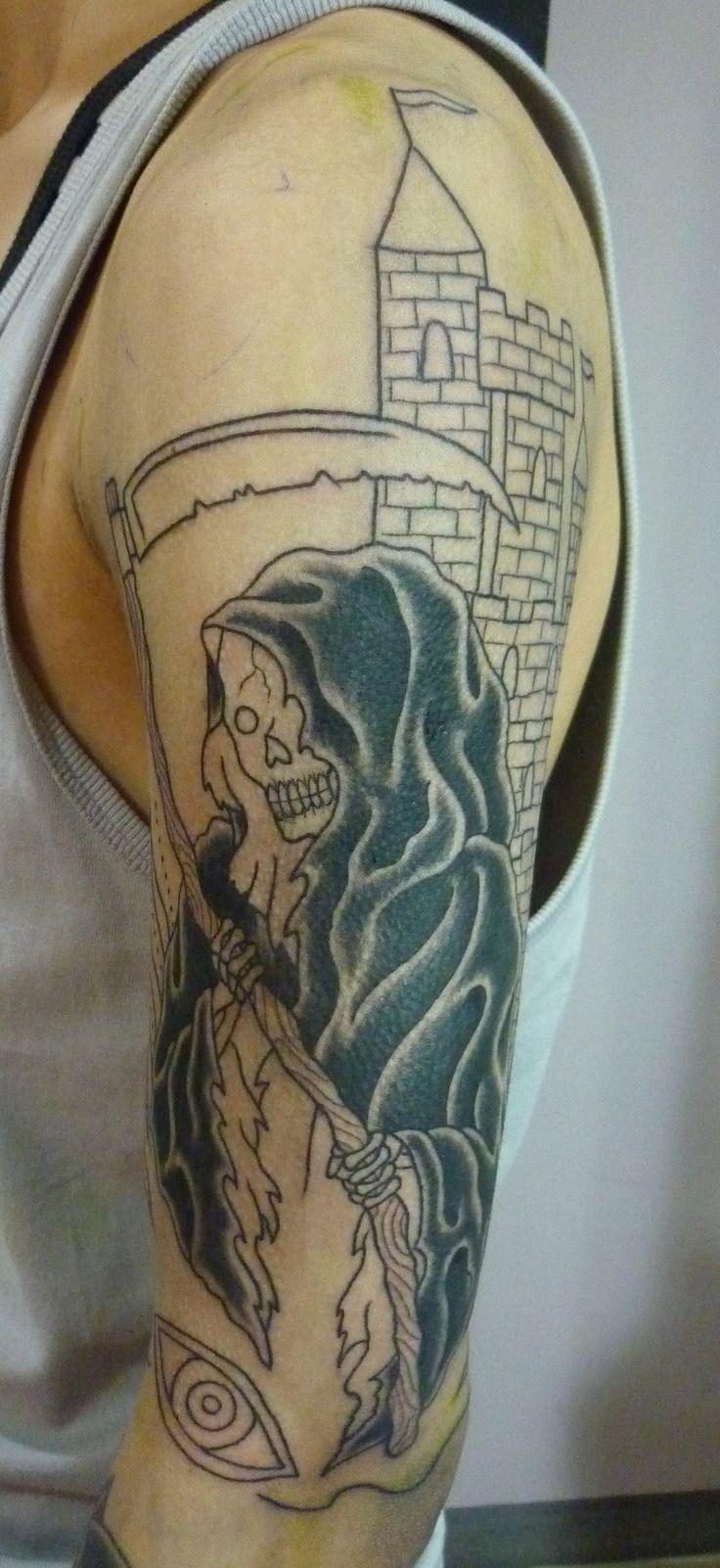 grim reaper tattoos design ideas   grim reaper tattoo, reaper