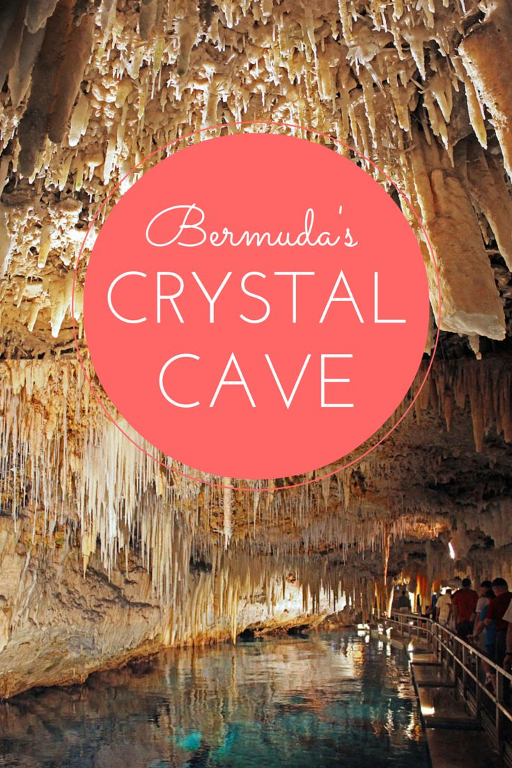 The Crystal Caves in Bermuda, stunning cave formations! It's a whole other world underground in Bermuda! http://justinpluslauren.com/crystal-cave-bermuda/