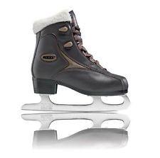 Roces Women's Fur Ice Skate Superior Italian Style 450540 00010/450618 00001