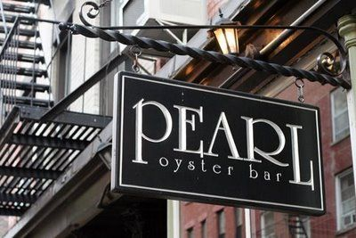 Pearl Oyster Bar, Cornelia St, NYC. One of the best lobster rolls I've ever had.