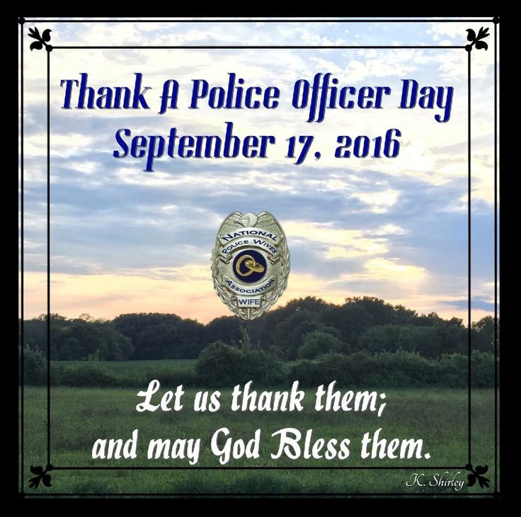 9 Best Thank A Police Officer Day Posters Images On
