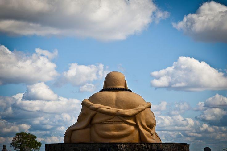Budda in contemplazione - Tempio Buddista - Brasile