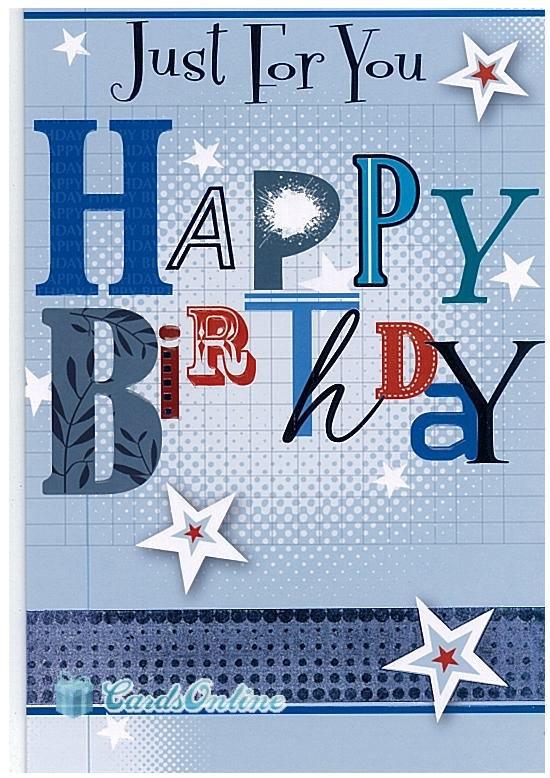 male birthday card by dimitria jordan | notonthehighstreet.com