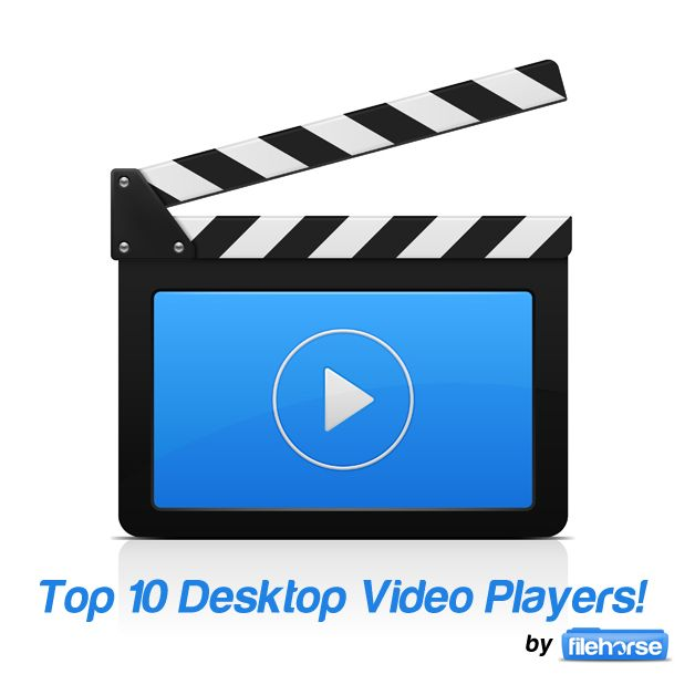 Top 5 Desktop Video Players!  1. Daum PotPlayer http://www.filehorse.com/download-daum-potplayer-32/ http://www.filehorse.com/download-daum-potplayer-64/  2. GOM Player http://www.filehorse.com/download-gom-player/  3. KMPlayer http://www.filehorse.com/download-kmplayer/  4. VLC Media Player http://www.filehorse.com/download-vlc-32/ http://www.filehorse.com/download-vlc-64/  5. Media Player Classic Home Cinema http://www.filehorse.com/download-media-player-classic/