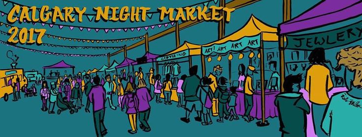 The Calgary Night Market takes place Feb to April each year. Pony Friday will have a booth there, so come on down and say hi!