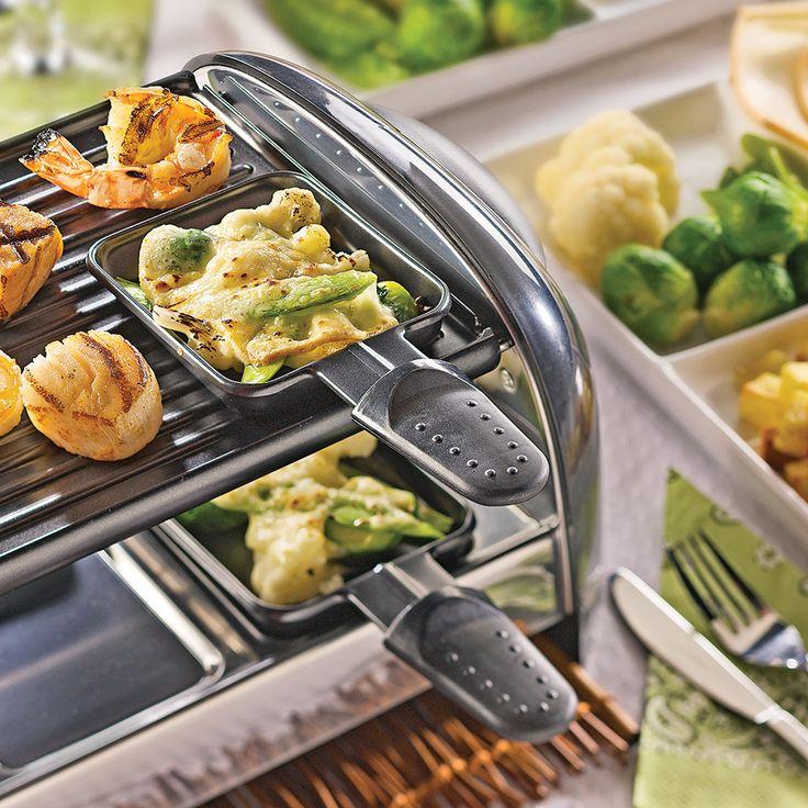 Une fa on chic et originale de d guster une bonne raclette cuisine pinterest - Faire une raclette originale ...