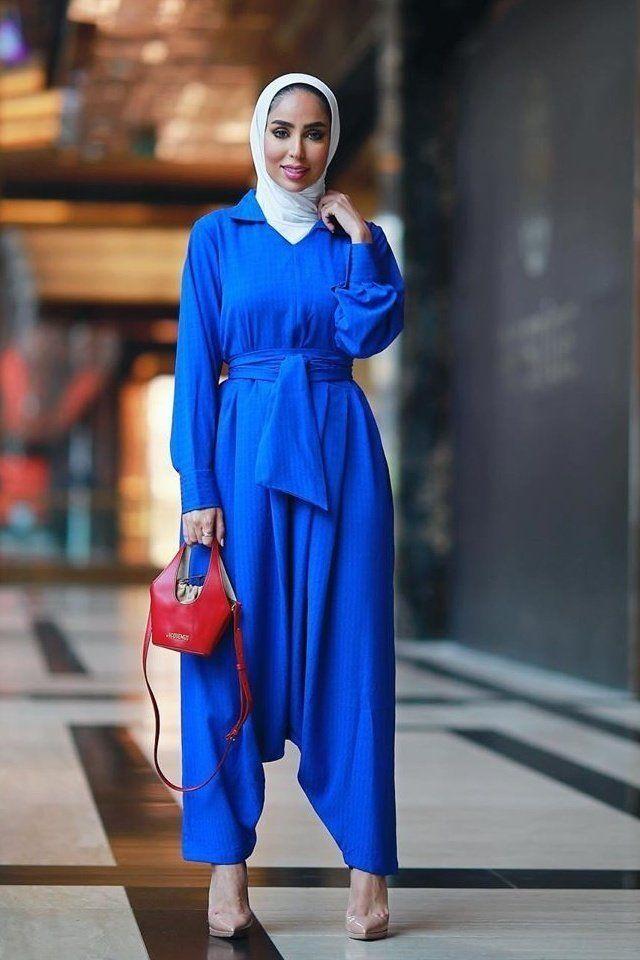 ارتدي الجمبسوت مع حجابك بطريقة محتشمة ورائعة Fashion Stuff To Buy Hijab