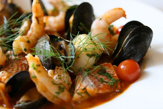 Cacciucco: A Spicy Italian Fish Stew  - Foodista.com