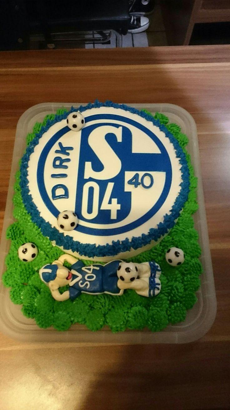 # Fußballtore# Schalke Torte #