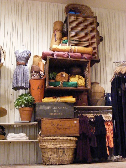 Use the crates at Barr Display to create a vintage look in your store