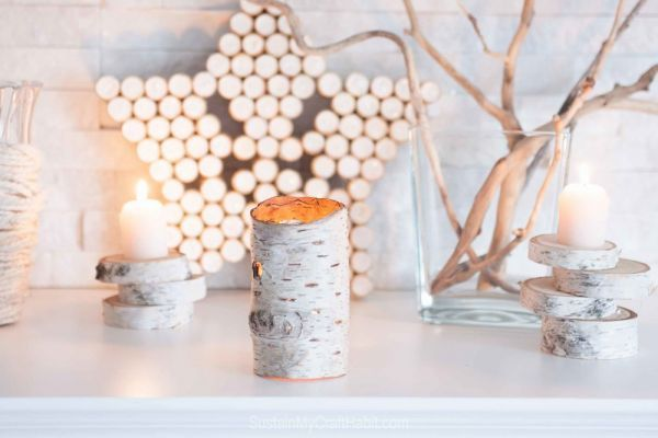 This tutorial is for a Birchwood bark candle holder. These Birchwood bark holders are perfect for any time of year and are amazing sellers too. Whether your style is rustic farmhouse or minimal chi…