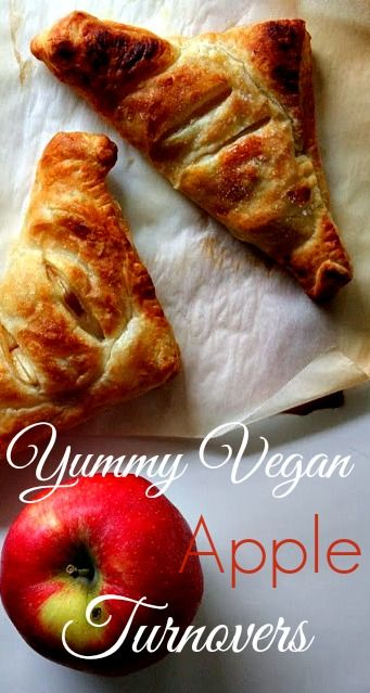 Housevegan.com: Yummy Vegan Apple Turnovers - The best apple turnovers! Super easy and wonderful for Fall.