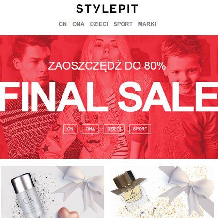 WYPRZEDAŻ w Stylepit do -80% >>FINAL SALE<<