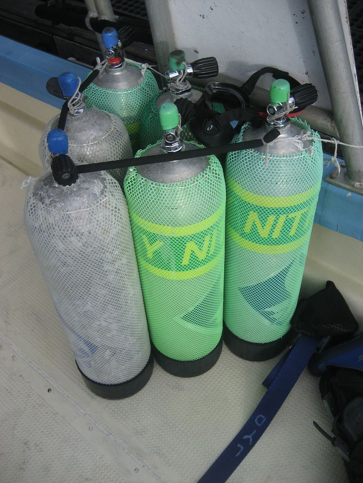What you need to know about Diving with Nitrox - Scuba Diving Gear
