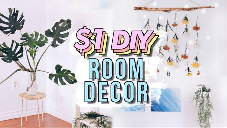 DIY Dollar Store Room Decor (Studio Room Makeover Part 3)   JENTERDIY