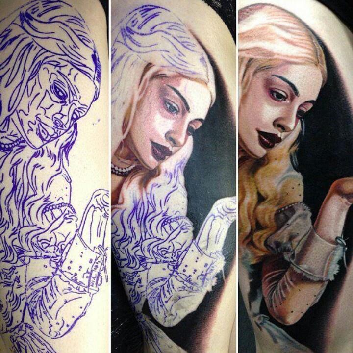 White Queen/Alice In Wonderland