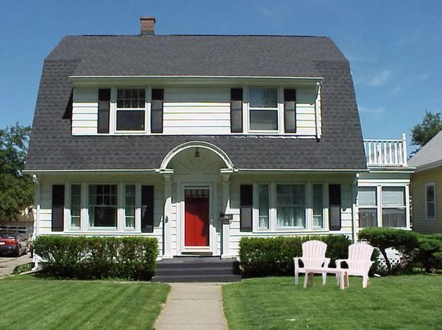 17 best images about dutch colonial homes on pinterest for Colonial house architecture