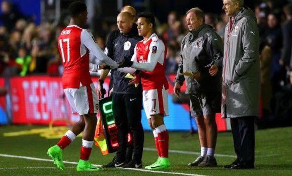 Using Sanchez against Sutton United was not risky says Arsene Wenger