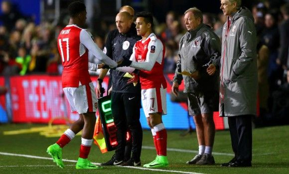 Using Sanchez against Sutton United was not risky says Arsene Wenger