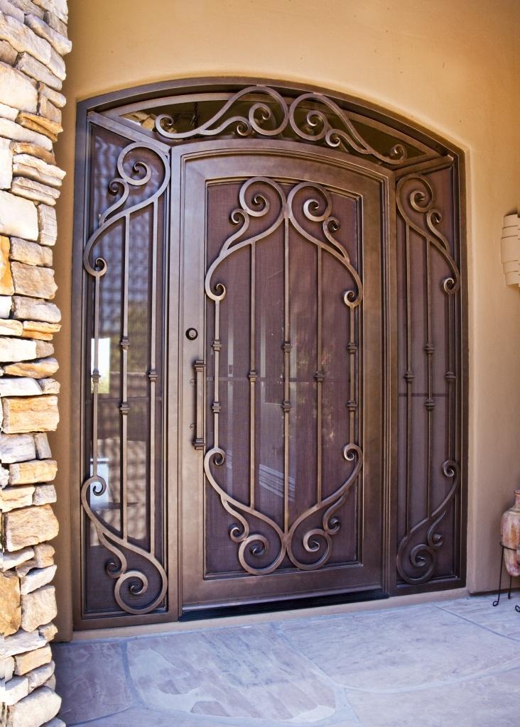Verona Iron Entry Doors #Firstimpression
