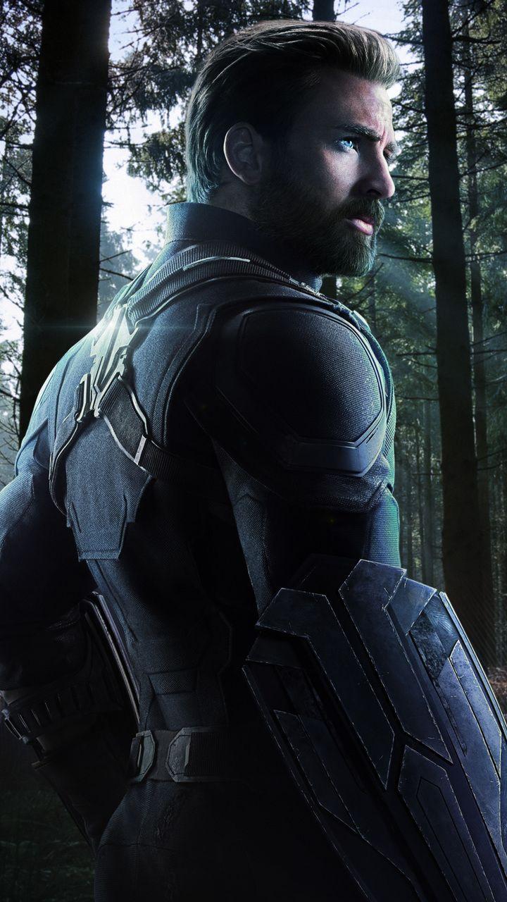 720x1280 Captain America In Avengers Infinity War 2018 Fan Artwork Moto G X Xperia Z1 Z3 Compact Gal Captain America Captain America Wallpaper Superhero Movies