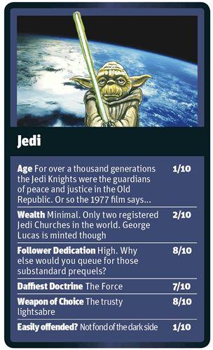 God Trumps Jedi card