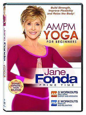 Jane Fonda Am/Pm Yoga for Beginners DVD