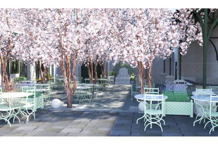 new york 39 s chicest gardens to brunch in brunch new york and soho