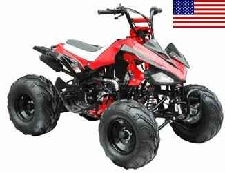 New 2014 Taotao 125cc Fully Assembled Elite Series ATV ON SALE!!! ATVs For Sale in Illinois. You will be extremely excited once you receive the Brand New 125cc Fully Assembled Semi Automatic Elite Series ATV because it has what other 125cc Fully Assembled Semi Automatic Elite Series ATV sellers on EBAY does NOT! Sure there are others out there claiming or selling models that look the same, however the quality is just not there! Every single ATV comes with a warranty that is fully backed…