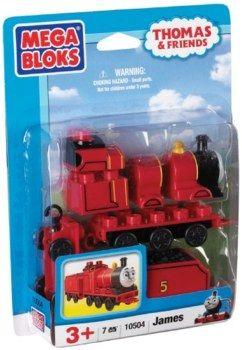 Mega Bloks Thomas Buildable Character James
