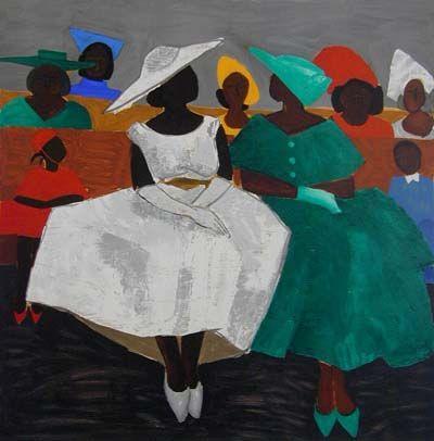 African American Art -- Jonathan Green