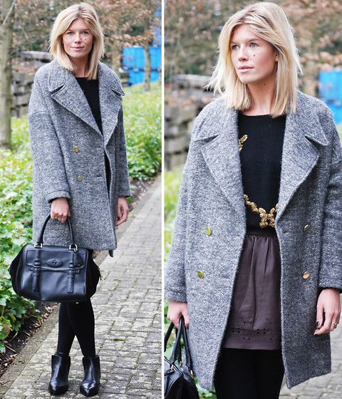 Get this look: http://lb.nu/look/5727993  More looks by Valerie Brems: http://lb.nu/mirroroffashion  Items in this look:  Les Petites Coat, Debby Debbo Knit, Vanessa Bruno Athé Skirt, Mulberry Bag, Alexander Wang Boots