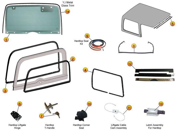 27 Best Jeep Cj7 Parts Diagrams Images On Pinterest