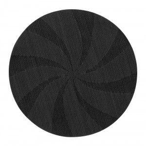 Tablett Stella rund d38 svart