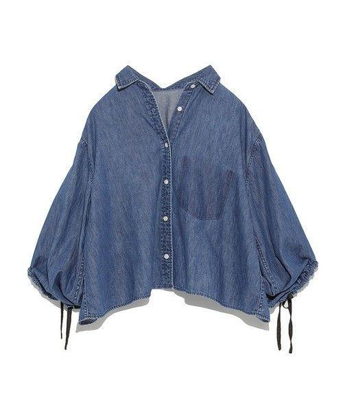 【ZOZOTOWN|送料無料】Mila Owen(ミラ オーウェン)のシャツ/ブラウス「デザインデニムシャツ」(09WFT174033)を購入できます。