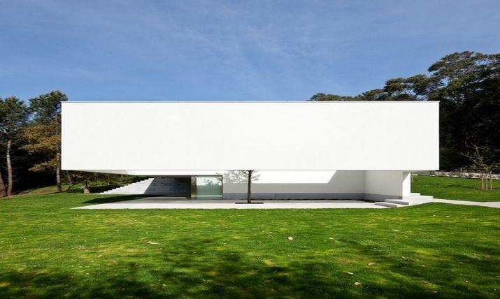 Souto de Moura designs the Ponte de Lima 3 house in Portugal   Housing
