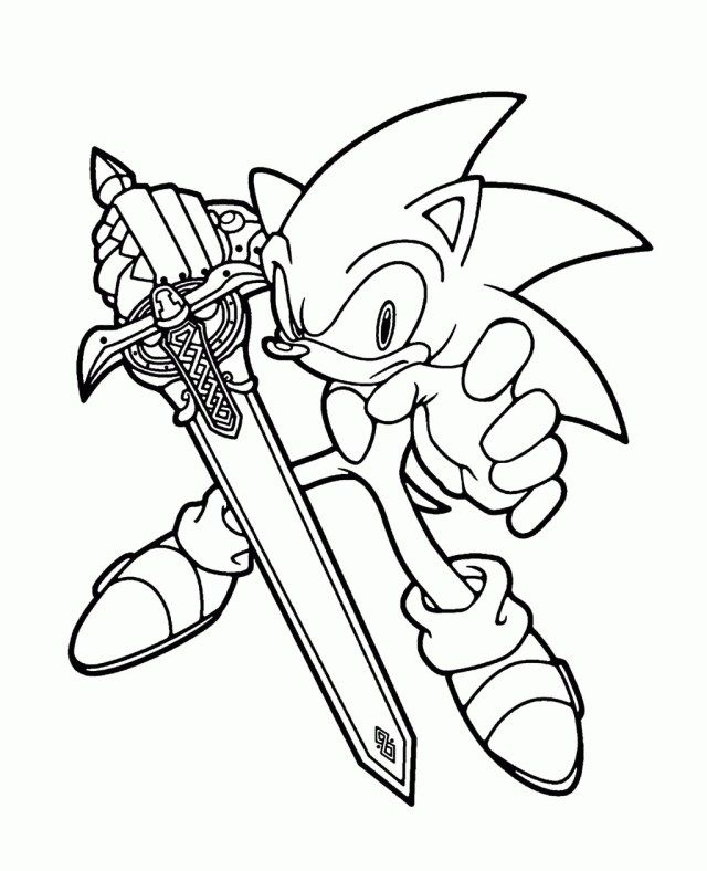 21 Inspired Picture Of Sonic The Hedgehog Coloring Pages