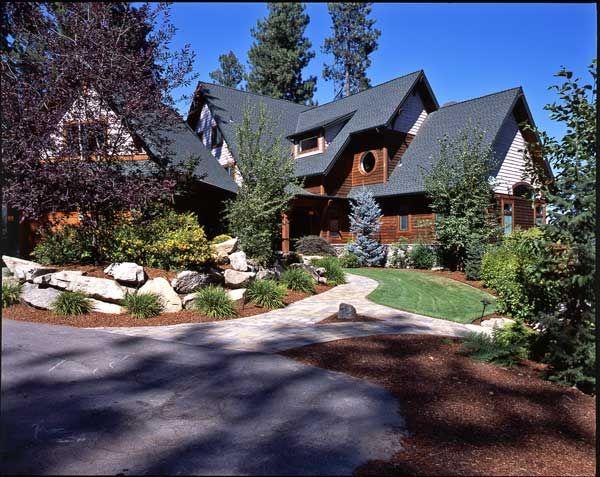 Country Home Landscaping Decor Amp Design Pinterest