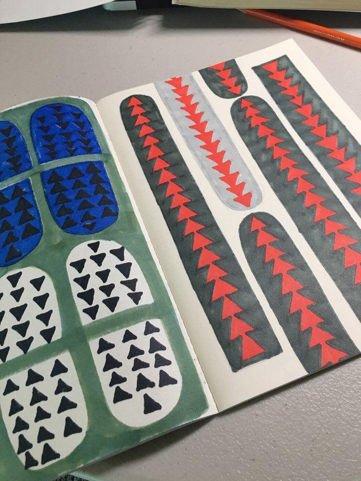 2017 ⓒdrpdrpdrp pattern design, drawing, hand drawing, design works