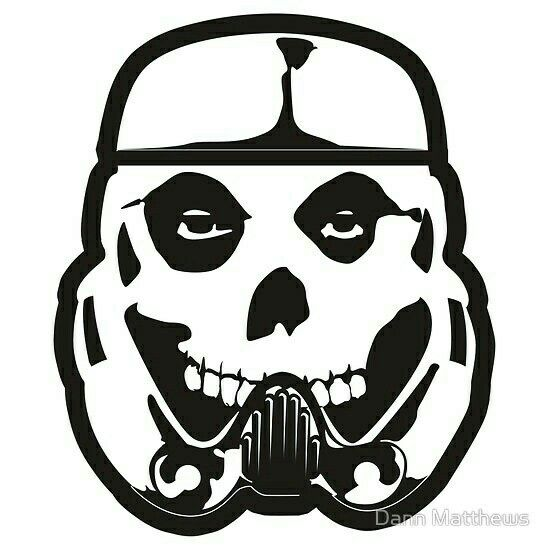 The misfits punk rock skulls skull art