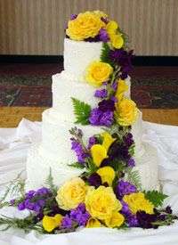 purple and yellow wedding cake ideas 1000 images about cake on gerbera cake the 18887