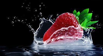 Κολατσιό από σπίτι !!: 6 + 1 τρόποι για να καταψύξουμε φράουλες!