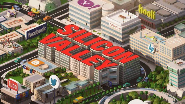 For the new HBO comedy from creator Mike Judge, yU+co. created a tech-inspired open that showcases the fast-paced business world of Silicon Valley. In time-lapse CG animation, we see various tech companies start up, expand, collapse, and quickly get supplanted by newer, fast-growing companies.