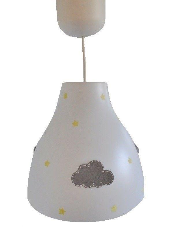 Lampa z chmurką