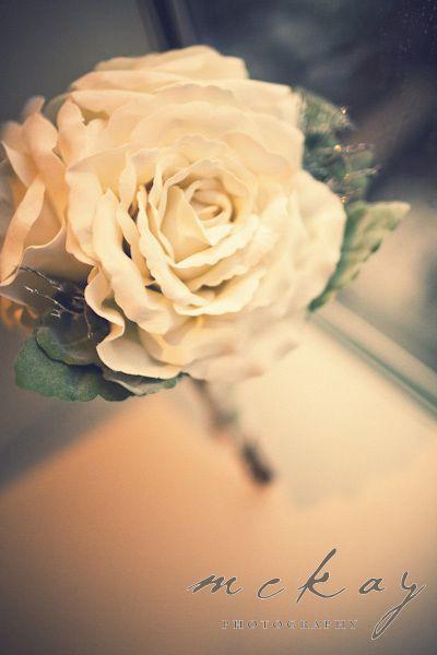 Beautiful - hand made silk wedding flowers