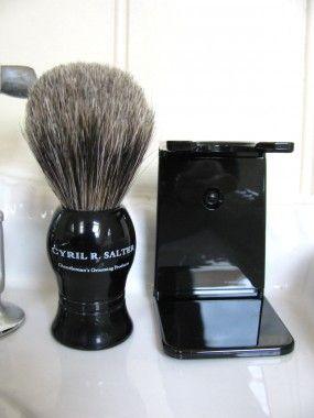 Cyril R Salter Pure Badger Shaving Brush