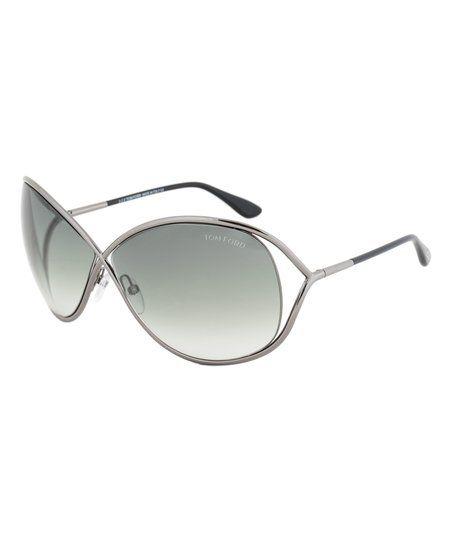4d27450d91 Tom Ford Gunmetal Gradient Miranda Sunglasses - Women