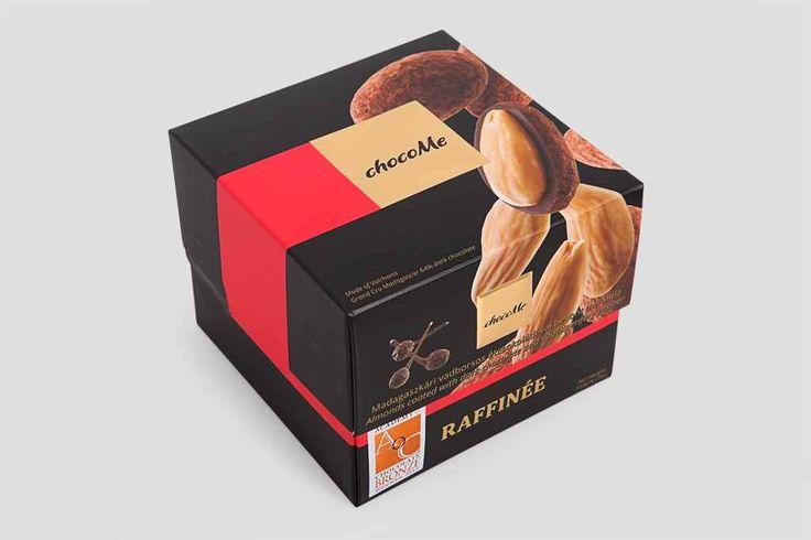 прекрасный Миндаль в горьком шоколаде Valrhona ChocoMe  #Подарки,МиндальвгорькомшоколадеValrhonaChocoMe